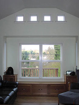 new room next to kitchen